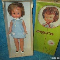 Otras Muñecas de Famosa: ANTIGUA MUÑECA BEGOÑA DE FAMOSA, EN CAJA. Lote 76807819