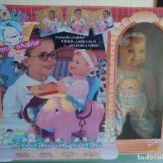 Otras Muñecas de Famosa: PEQUE - APRENDE A HABLAR - NUEVA A ESTRENAR - FAMOSA - AÑO 1999. Lote 77305409