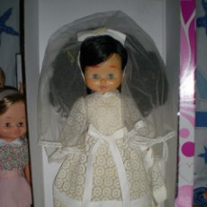 Otras Muñecas de Famosa: PRECIOSA CABEZA MUÑECA MEGGY O MARI LOLI DE FAMOSA AÑOS 70 RESTAURADA +REGALO CUERPO Y VESTIDO NOVIA. Lote 78190413