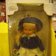 Otras Muñecas de Famosa: MUÑECA AMOUR DE FAMOSA, AÑOS 90, NUEVA SIN ABRIR.. Lote 197349052