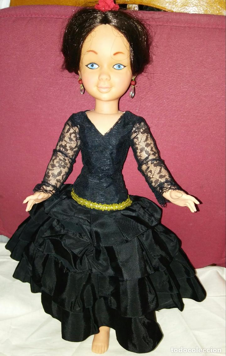 MUÑECA MARY POPPINS WALT DISNEY DE SEVILLANA FLAMENCA (Juguetes - Muñeca Española Moderna - Otras Muñecas de Famosa)