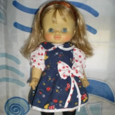 Otras Muñecas de Famosa: BONITA MUÑECA MILY DE FAMOSA AÑOS 70 PELO RUBIO CERVEZA MUY BUEN ESTADO. Lote 87375760