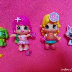 Otras Muñecas de Famosa: PACK DE 2 FIGURITAS Y 2 MASCOTAS PIN Y PON. Lote 91956255