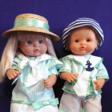 Otras Muñecas de Famosa: PAREJA DE MUÑECOS NENUCOS CON TODO NUEVO DE FAMOSA. Lote 95355707