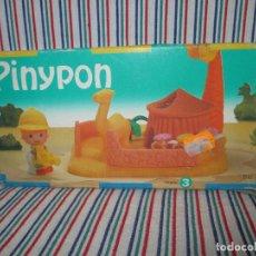Otras Muñecas de Famosa: PIN Y PON, CABAÑA EN AFRICA AÑO 1996. Lote 97167115