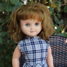 Otras Muñecas de Famosa: FAMOSA Y GRAN MUÑECA MARINA AÑOS 60 OJOS AZUL TURQUESA. Lote 98232511