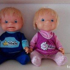 Otras Muñecas de Famosa: MILA Y MALO INTERACTIVOS MUÑECOS DE FAMOSA BUEN ESTADO. Lote 98484215