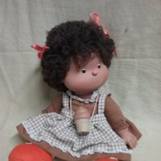 Altre Bambole di Famosa: ANTIGUA MUÑECA TONOS DE FAMOSA HELADO DE CHOCOLATE - ROPA ORIGINAL. Lote 98967131