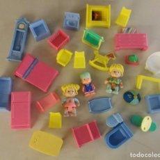 Otras Muñecas de Famosa: LOTE DE PIN Y PON DE FAMOSA ORIGINAL. Lote 99031351