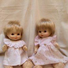Otras Muñecas de Famosa: PAREJA DE GEMELOS CHIQUITIN Y CHIQUITINA DE LA MARCA FAMOSA VINTAGE AÑOS 70. Lote 99294103