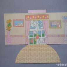 Otras Muñecas de Famosa: PIN Y PON PINYPON BASE PAPEL DECORACION CASA GRANDE. Lote 99857835