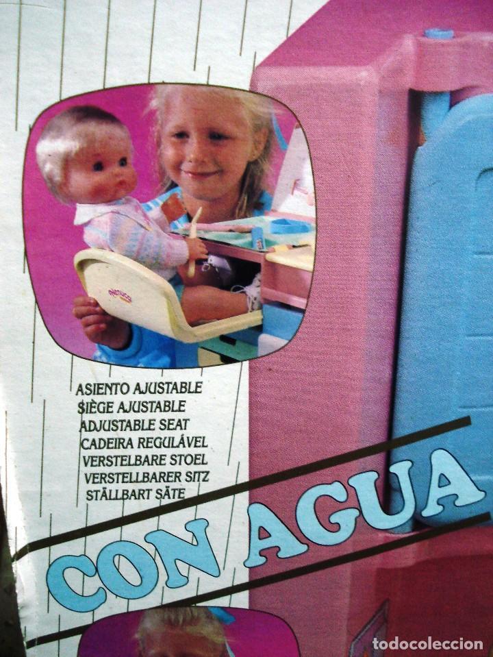 Otras Muñecas de Famosa: NENUCO: MÓDULO COCINA COMEDOR CON AGUA Y LUZ. ¡¡NUEVA, ORIGINAL Y ÚNICA!! AÑOS 90 - Foto 2 - 100493939
