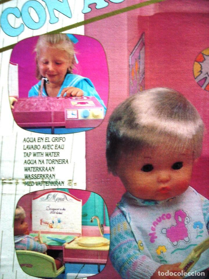Otras Muñecas de Famosa: NENUCO: MÓDULO COCINA COMEDOR CON AGUA Y LUZ. ¡¡NUEVA, ORIGINAL Y ÚNICA!! AÑOS 90 - Foto 3 - 100493939