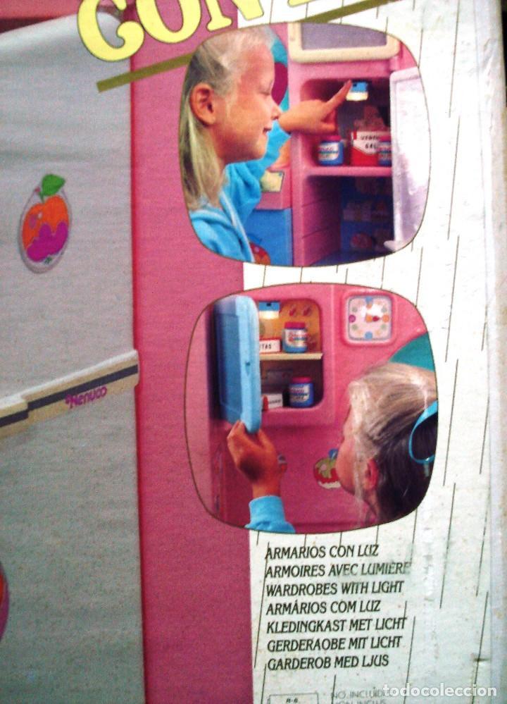 Otras Muñecas de Famosa: NENUCO: MÓDULO COCINA COMEDOR CON AGUA Y LUZ. ¡¡NUEVA, ORIGINAL Y ÚNICA!! AÑOS 90 - Foto 4 - 100493939