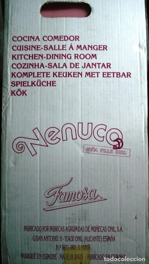 Otras Muñecas de Famosa: NENUCO: MÓDULO COCINA COMEDOR CON AGUA Y LUZ. ¡¡NUEVA, ORIGINAL Y ÚNICA!! AÑOS 90 - Foto 7 - 100493939
