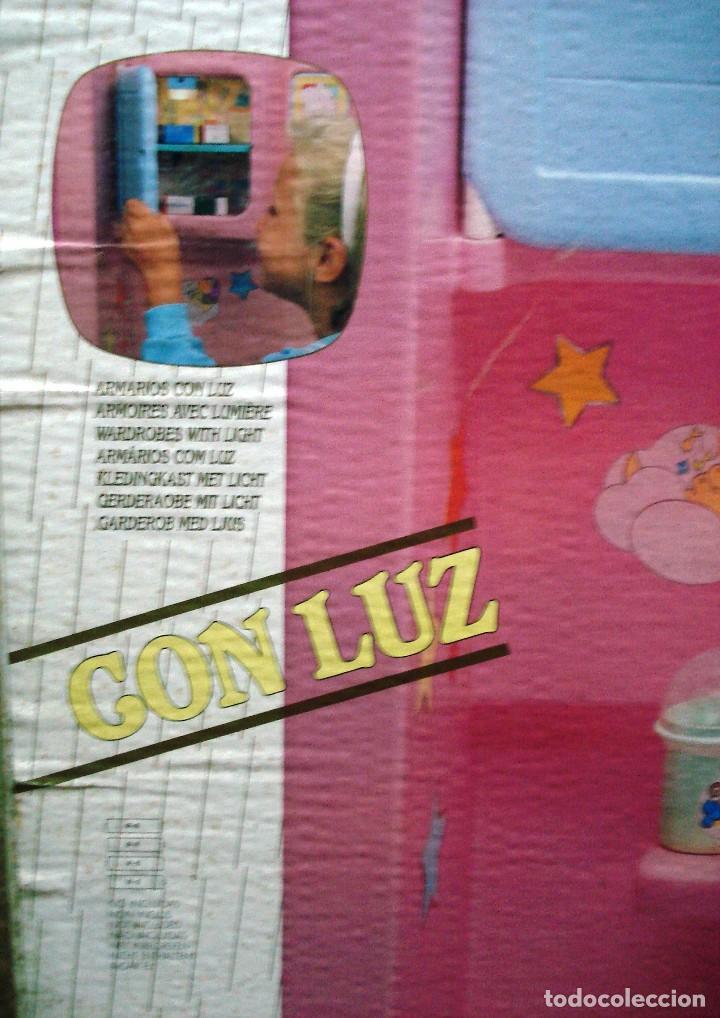 Otras Muñecas de Famosa: NENUCO: MÓDULO HABITACIÓN DORMITORIO CON LUZ ¡¡NUEVA, ORIGINAL Y ÚNICA!! AÑOS 90 - Foto 2 - 101741131