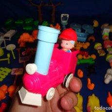 Otras Muñecas de Famosa: PINYPON-LOTAZO PIN Y PON, PIEZAS ZOO CON TREN,ANIMALES Y MUÑECOS,VER FOTOS Y DESCRIPCION! SM. Lote 101976303