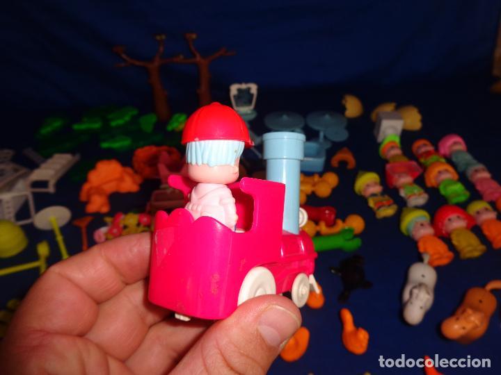 Otras Muñecas de Famosa: PINYPON-LOTAZO PIN Y PON, PIEZAS ZOO CON TREN,ANIMALES Y MUÑECOS,VER FOTOS Y DESCRIPCION! SM - Foto 10 - 101976303