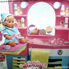 Otras Muñecas de Famosa: NENUCO: MÓDULO BAÑO CON LUZ Y AGUA ¡¡NUEVA Y ORIGINAL Y ÚNICA!! AÑOS 90. Lote 102912423