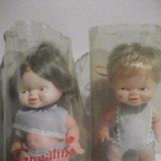 Otras Muñecas de Famosa: PAREJA DE GRATISINES MUÑECA MUÑECO GRASITIN I GRASITINA DE FAMOSA - NUEVOS. Lote 103069387