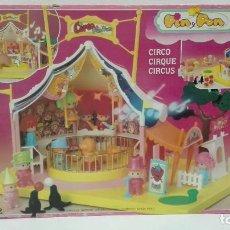 Otras Muñecas de Famosa: CIRCO PIN Y PON 1986-A ESTRENAR DE ALMACEN. Lote 103093167