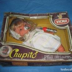 Otras Muñecas de Famosa: MUÑECA CHUPITO DE VICMA. Lote 104694459