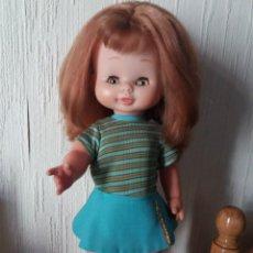 Otras Muñecas de Famosa: MUÑECA MARI LOLI MARILOLI DE FAMOSA PELIRROJA CON VESTIDO DE MALENI AÑOS 70. Lote 104864231