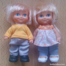 Otras Muñecas de Famosa: PAREJA BARRIGUITAS FAMOSA NIÑOS. Lote 105413195