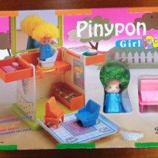 Otras Muñecas de Famosa: PIN Y PON 2336 PIN Y PON GIRL PELUQUERIA. NUEVO. PINYPON FAMOSA 1992. Lote 105432400