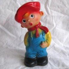 Otras Muñecas de Famosa: MUÑECO DE GOMA DE FAMOSA CON PITO. GOLFILLO. Lote 106242339