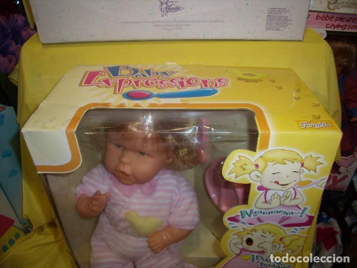 Otras Muñecas de Famosa: Baby Expressions, Expressiones de Famosa, año 2003, cambia de caras, funciona, Nueva sin usar. - Foto 2 - 106774831