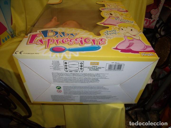 Otras Muñecas de Famosa: Baby Expressions, Expressiones de Famosa, año 2003, cambia de caras, funciona, Nueva sin usar. - Foto 8 - 106774831