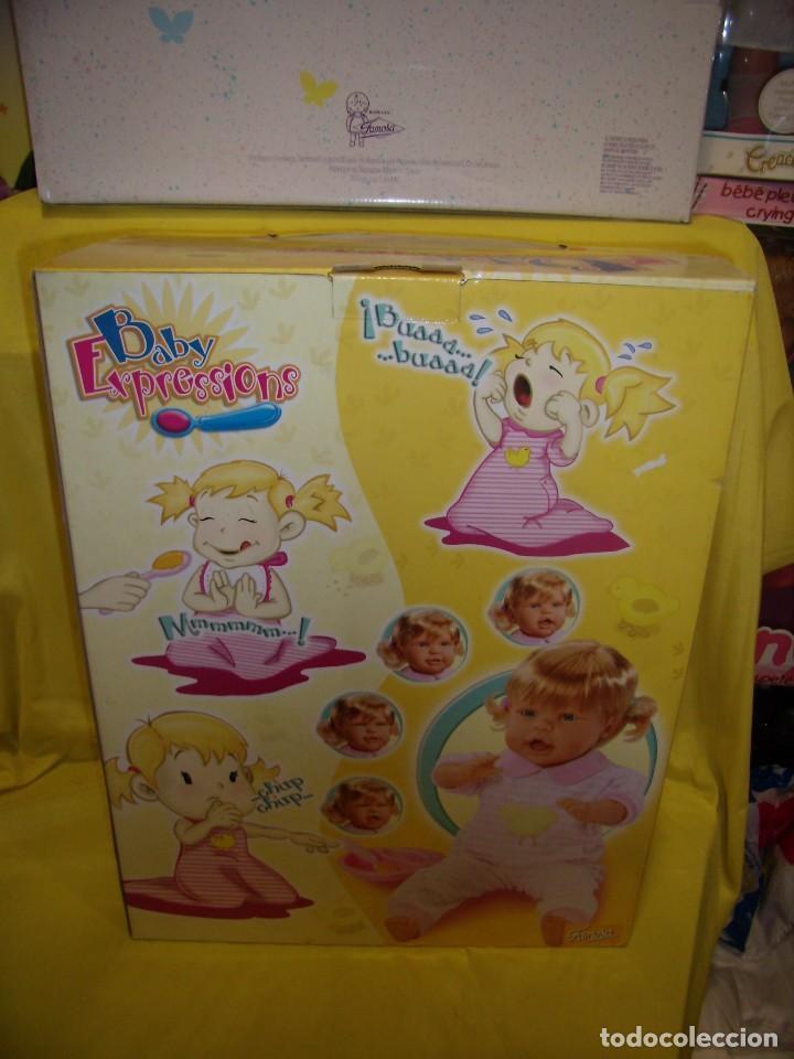 Otras Muñecas de Famosa: Baby Expressions, Expressiones de Famosa, año 2003, cambia de caras, funciona, Nueva sin usar. - Foto 10 - 106774831