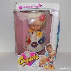 Otras Muñecas de Famosa: MUÑECA COQUETA DE FAMOSA. ORIGINAL AÑOS80/90. MARCA: FAMOSA. NUEVO!. Lote 107073663
