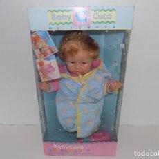 Otras Muñecas de Famosa: MUÑECO BABYCUCO DE FAMOSA. ORIGINAL AÑOS80/90. MARCA: FAMOSA. NUEVO!. Lote 107073999