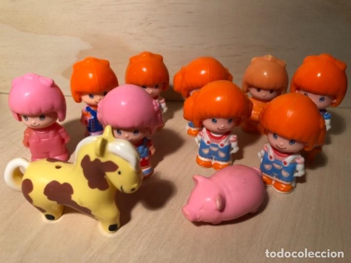 LOTE PIN Y PON FIGURAS Y ANIMALES ANTIGUOS (Juguetes - Muñeca Española Moderna - Otras Muñecas de Famosa)