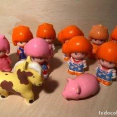 Otras Muñecas de Famosa: LOTE PIN Y PON FIGURAS Y ANIMALES ANTIGUOS. Lote 107294311