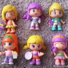 Otras Muñecas de Famosa: LOTE 6 MUÑECAS FIGURAS PINYPON FAMOSA. Lote 108056211