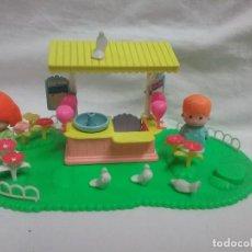 Otras Muñecas de Famosa: KIOSKO DE ALGODÓN DE MUÑECO PIN Y PON DE FAMOSA REFERENCIA 2250 . Lote 108673423