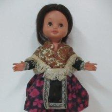 Otras Muñecas de Famosa: MUÑECA REGIONAL - MARCA FAMOSA - COMPLETA - ORIGINAL - 38 CM ALTURA. Lote 110893475