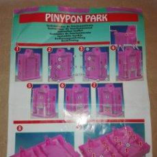 Otras Muñecas de Famosa: PINYPON PARK. INSTRUCCIONES MONTAJE.. Lote 111026310