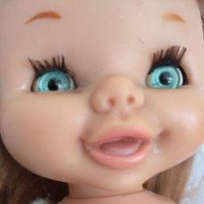 Otras Muñecas de Famosa: MUÑECA CAROLIN FAMOSA AÑOS 70, OJOS MARGARITA. + BEBE FAMOSA DE REGALO. Lote 111922631