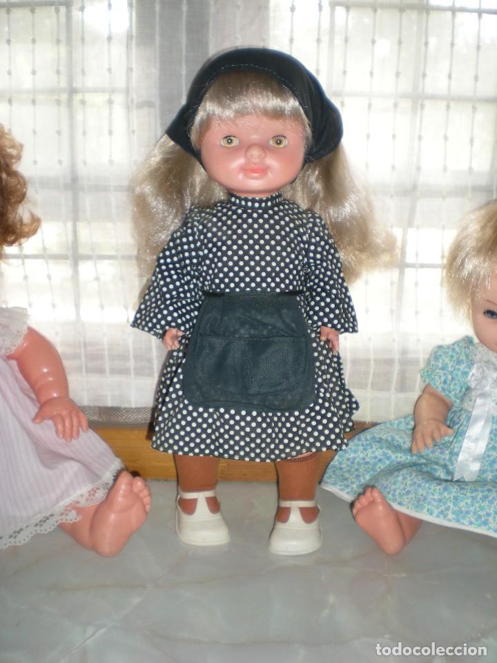 Otras Muñecas de Famosa: graciosa conchi de famosa años 60 pelo ha mechas melena extra larga en perfecto estado - Foto 2 - 112110963