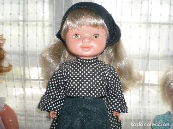Otras Muñecas de Famosa: graciosa conchi de famosa años 60 pelo ha mechas melena extra larga en perfecto estado - Foto 3 - 112110963