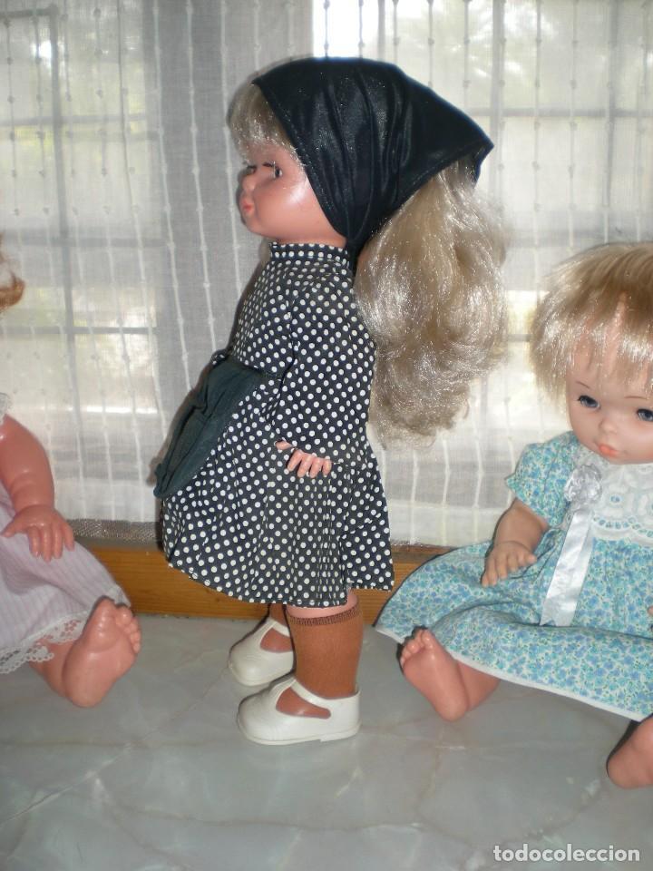Otras Muñecas de Famosa: graciosa conchi de famosa años 60 pelo ha mechas melena extra larga en perfecto estado - Foto 4 - 112110963