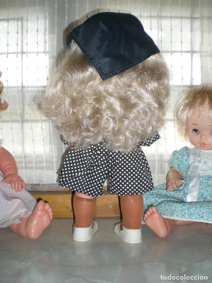 Otras Muñecas de Famosa: graciosa conchi de famosa años 60 pelo ha mechas melena extra larga en perfecto estado - Foto 5 - 112110963