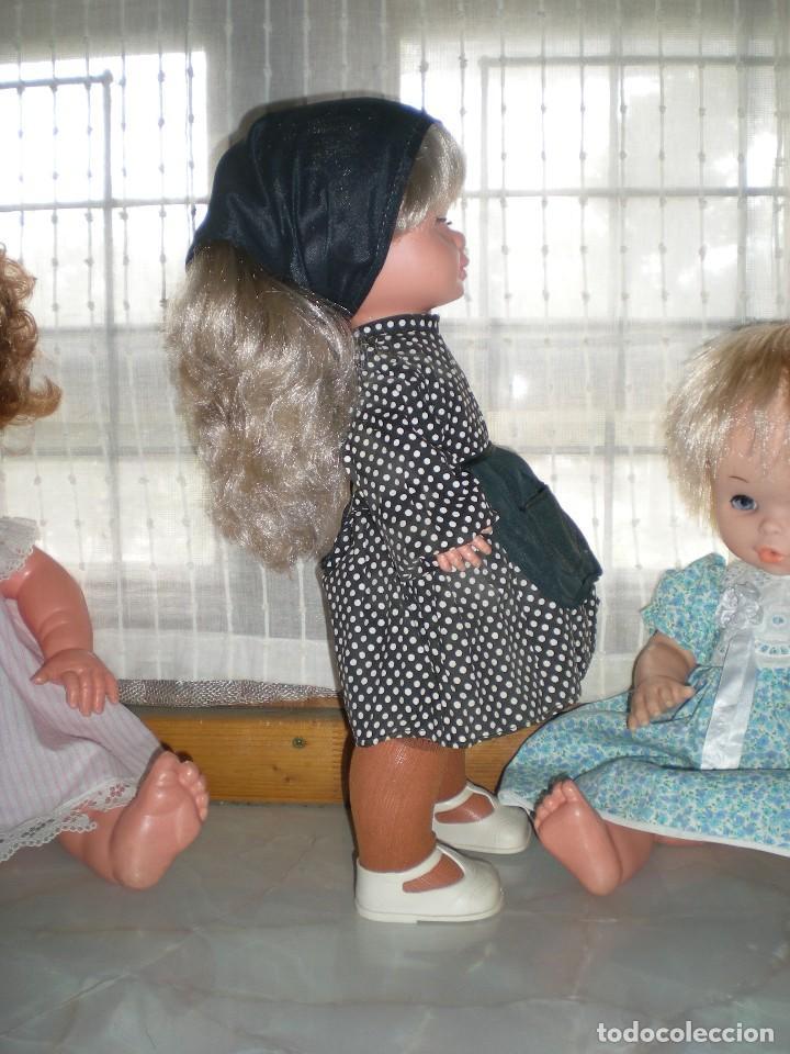 Otras Muñecas de Famosa: graciosa conchi de famosa años 60 pelo ha mechas melena extra larga en perfecto estado - Foto 6 - 112110963