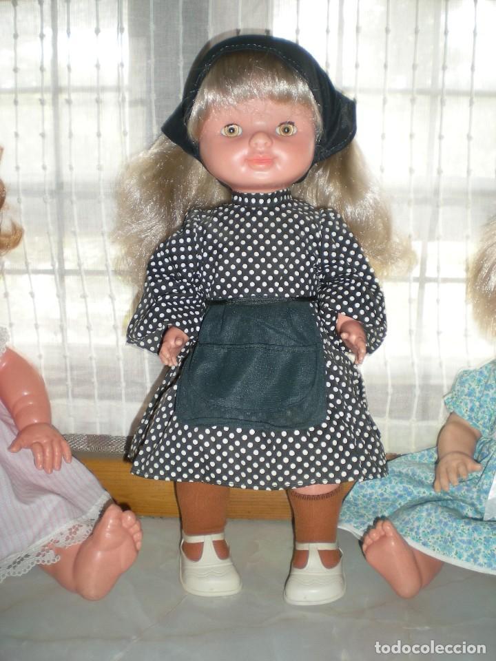 Otras Muñecas de Famosa: graciosa conchi de famosa años 60 pelo ha mechas melena extra larga en perfecto estado - Foto 11 - 112110963