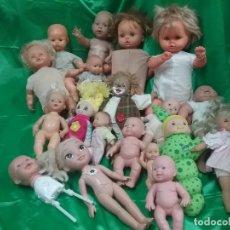 Otras Muñecas de Famosa: LOTE DE 19 MUÑECA MUÑECAS DIFERENTES MARCAS : JESMAR , BERJUSA , PAOLO REINA, JUMACO ..... Lote 112306627