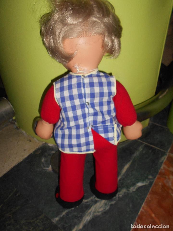 Otras Muñecas de Famosa: ANTIGUA MUÑECA FAMOSA IRIS MARGARITA DE TRAPO TODO ORIGINAL 42 CM APROX VER FOTOS DETALLES RARA - Foto 4 - 153359749